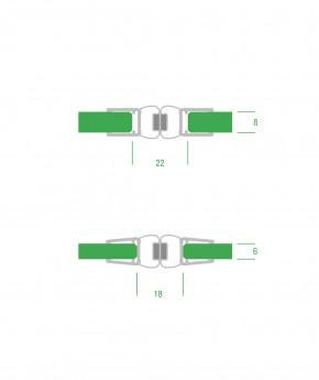 Magnetdichtung 180 Grad Pendel